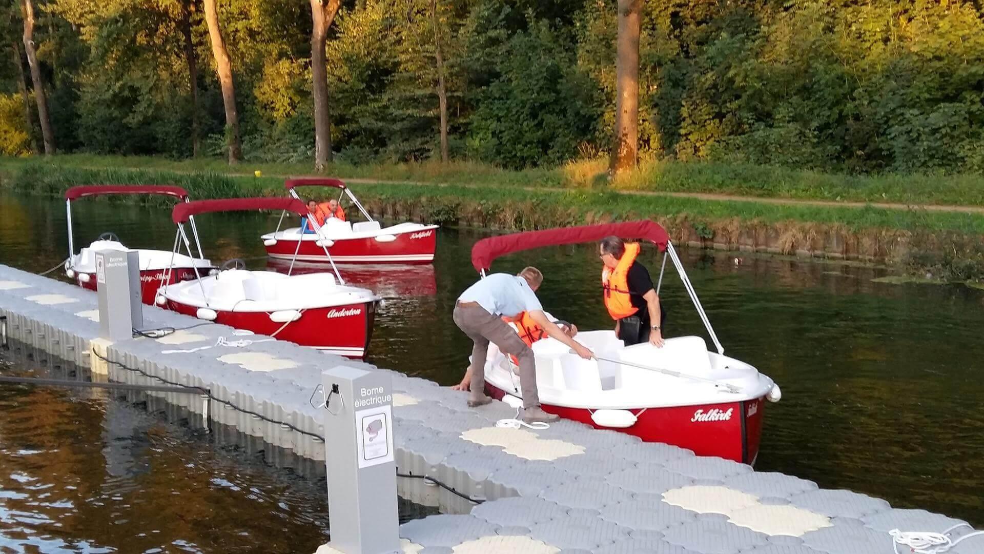 bateaux électriques
