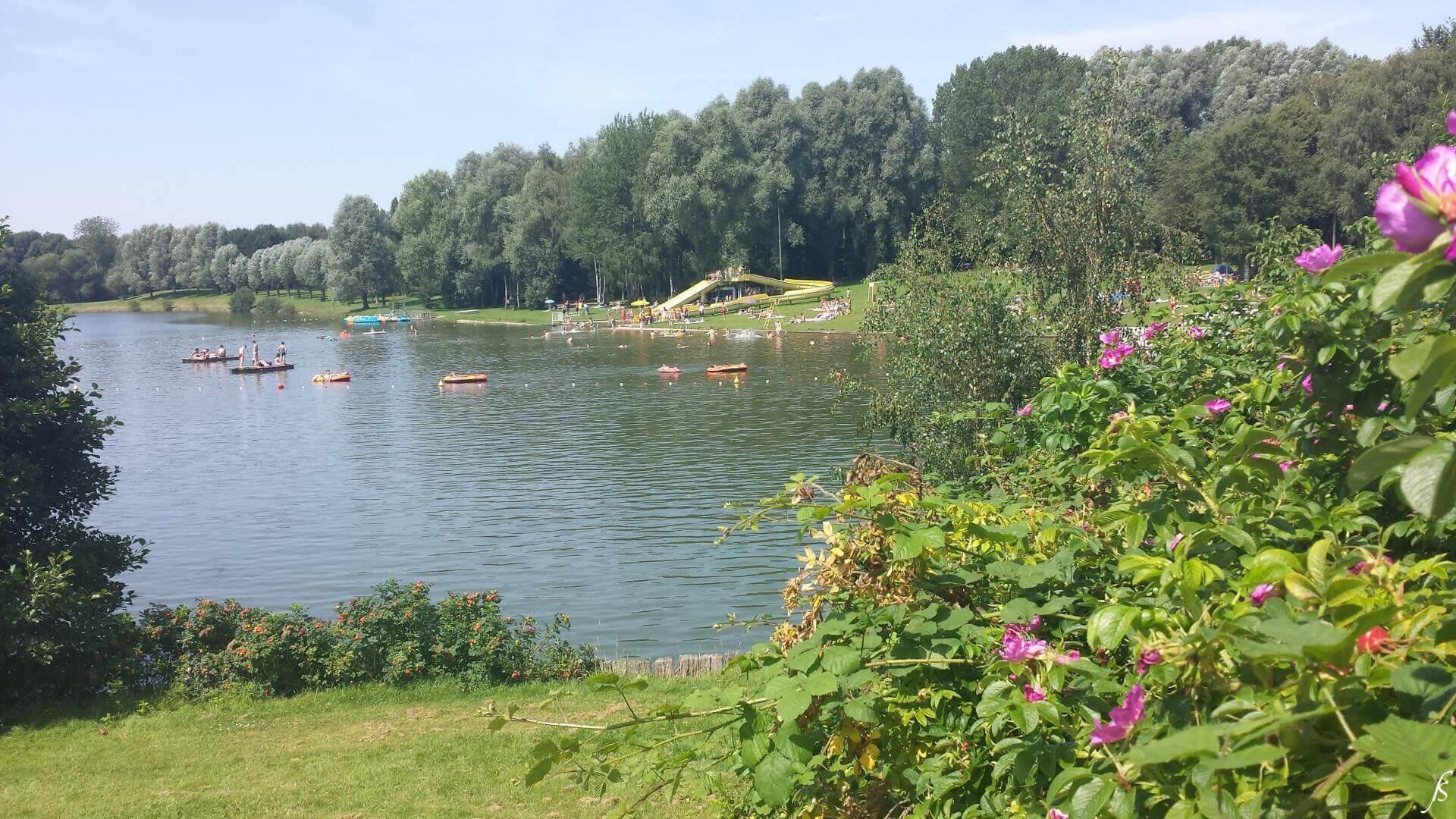 Baden Sie am See im Domaine Claire-Fontaine