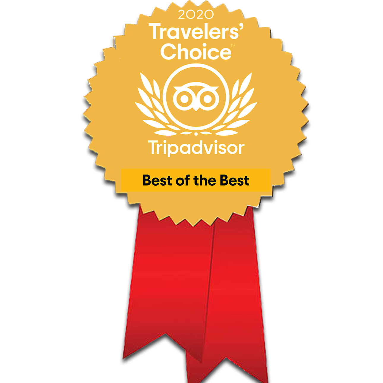Prix Travellers' Choice Best of the Best - Trip Advisor